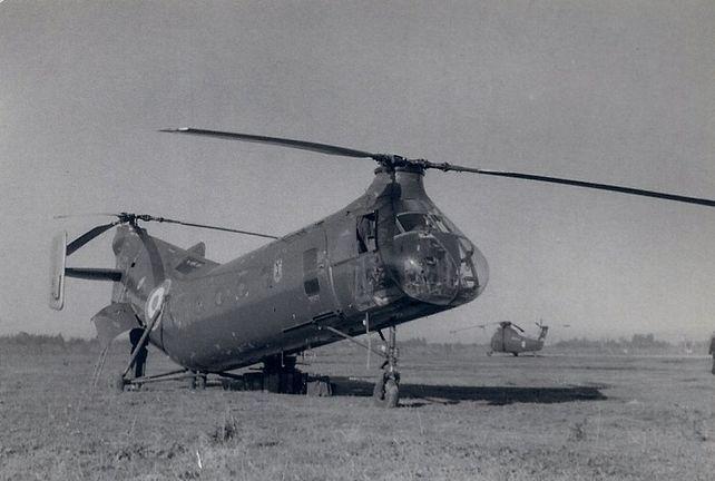 Piasecki H-21, Boufarik 1956