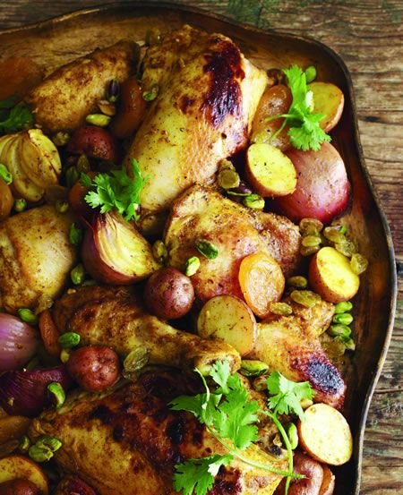 Moroccan Roasted Chicken - Kosher Recipes & Cooking