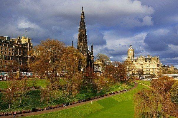 Эдинбург, Шотландия - Путешествуем вместе