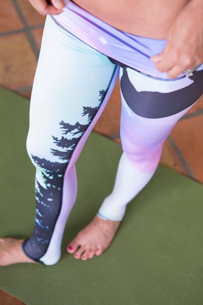 Teeki pants - Northern Lights. My absolute Fav Print on the Teeki's