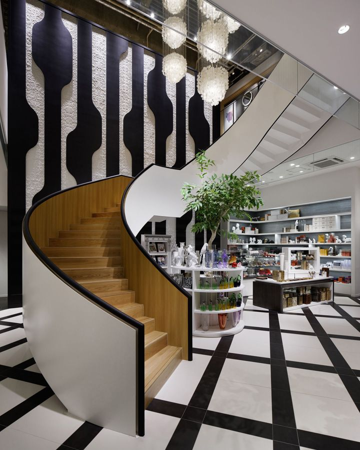 LOUNGE by Francfranc store in Tokyo by A.N.D.