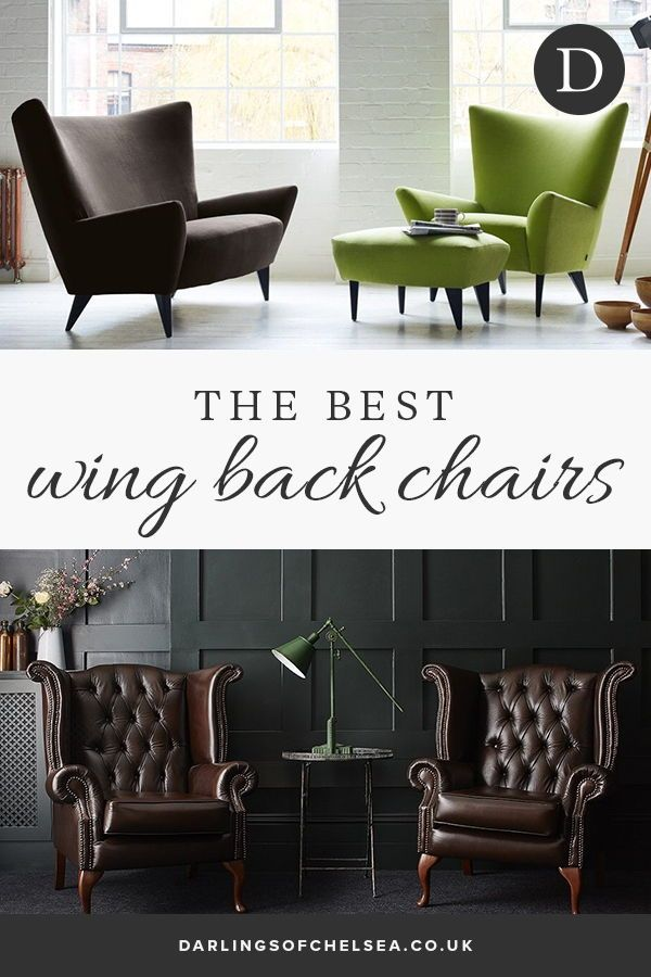 Wow In A Wing Back Chair Guest Bedroom Decor Interior