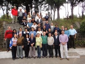 Retiro de hermanos maristas y laicos maristas 2012, Quito-Cumbayá