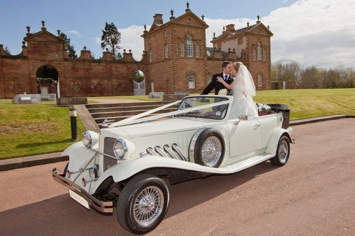 The Beauford wedding car for hire http://www.goldchoiceweddingcars.co.uk/