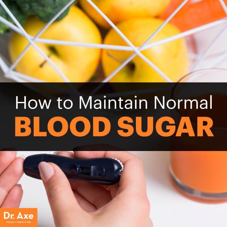 Normal blood sugar - Dr. Axe http://www.draxe.com #health #Holistic #natural