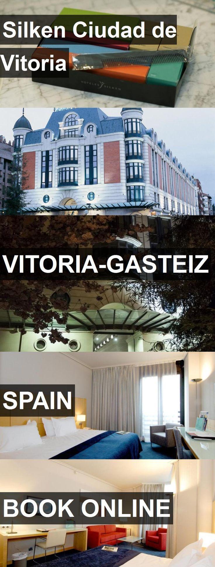 Hotel Silken Ciudad de Vitoria in Vitoria-Gasteiz, Spain. For more information, photos, reviews and best prices please follow the link. #Spain #Vitoria-Gasteiz #travel #vacation #hotel