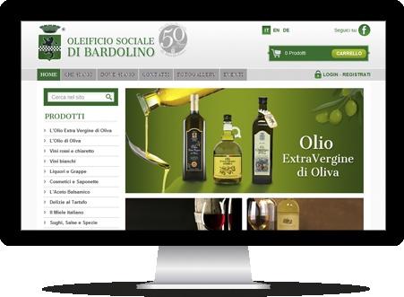 Il nuovo sito e-commerce dell'Oleificio Sociale di Bardolino in tre lingue: Italiano, Inglese, Tedesco, è l'esempio di come i venditori diretti possano sfruttare al meglio le opportunità offerte dal web.   Clicca e scopri il sito e i loro prodotti   http://www.oleificiosocialebardolino.it/