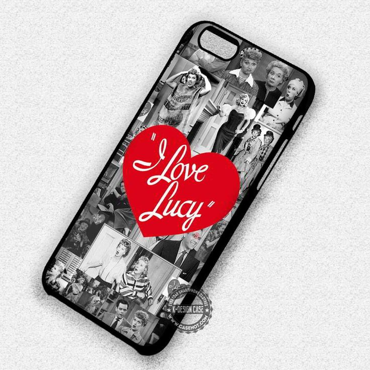 I Love Lucy Collage Vintage Audrey Hepburn - iPhone 7 6 5 SE Cases & Covers