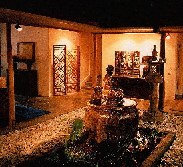 Interior Courtyard Garden Home: Asian Korean Chinese Home Interior