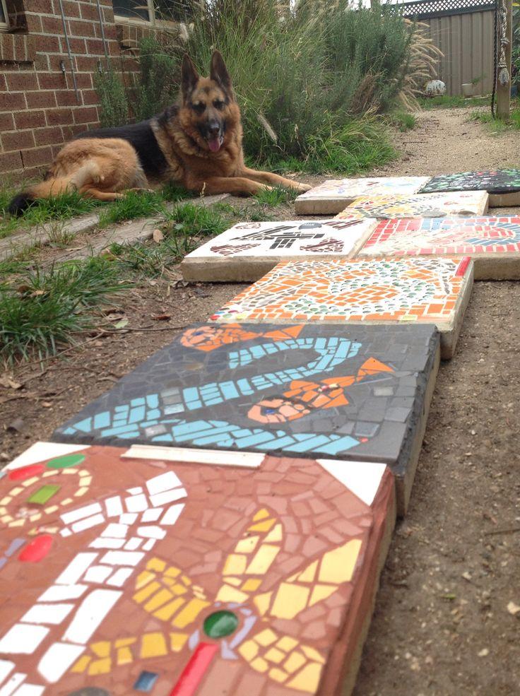 Mosaic hopscotch