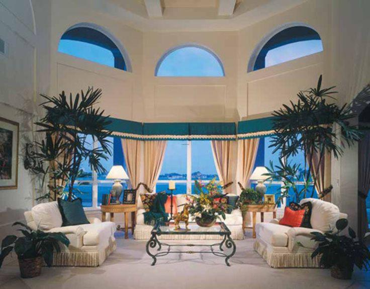 Mediterranean Style Living Room Photos Modern Design Interior