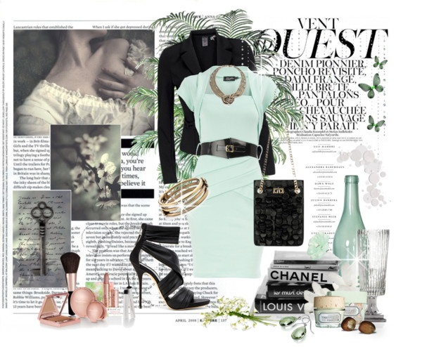 Untitled #45, created by jfly51 on Polyvore: Jfly51, Style, Color, Dress, Polyvore Fashion