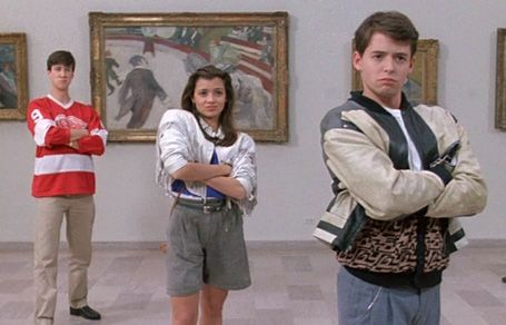 Dream day in Chicago. Love this movie :) Art institute of Chicago