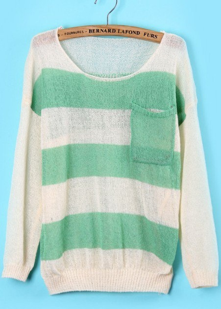 Looks so comfy!Mint Green, Skull Print, Comfy Sweaters, Baggy Sweaters, Knit Sweaters, Stripes Sweaters, Mint Sweaters, Knits Sweaters, Dreams Closets