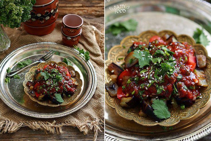 Салат с баклажанами аля по-турецки