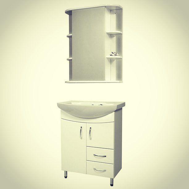 Мебель для ванной комнаты #СанТа Элеганс Герда 65: Привлекательный дизайн и высокая стойкость к влаге!  #мебель, #тумбы, #шкафы, #пеналы, #зеркала, #мойдодыры, #умывальники, #ванная, #ванной, #комната, #комнаты, #мебельдляванной, #мебельдляванны, #купитьмебель, #продажамебели, #квартира, #дом, #ремонт, #дизайн, #design, #интерьер, #идеи, #распродажа, #акции, #скидки, #sale, #сантехника, #вивон.