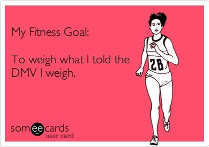 My new fitness goal! AMEN!
