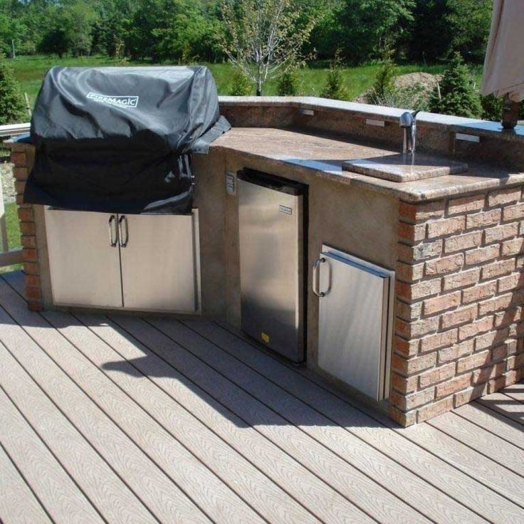 21 Best Outdoor Kitchen On Wooden Deck Images On Pinterest