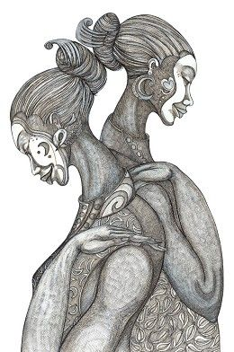 Мистические эро девушки фото