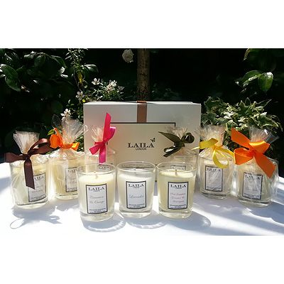 3 Luxury Soy Gift Candles With Essential Oil