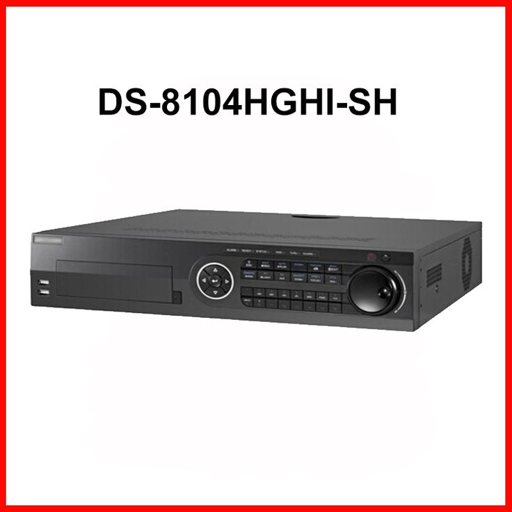 755.00$  Buy here - http://aliq16.worldwells.pw/go.php?t=32485895829 - DS-8104HGHI-SH Original English CCTV Turbo HD 720P DVR H.264 Dual-stream CCTV Recorder Stand alone DVR HDTVI DVR support 8 HDD