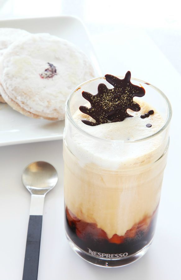 This Nespresso Summer Iced Coffee is as delicious as it looks! Whether you're enjoying this drink recipe alone or with company, its impressive appearance is sure to please. Click here to learn how to make this coffee creation.