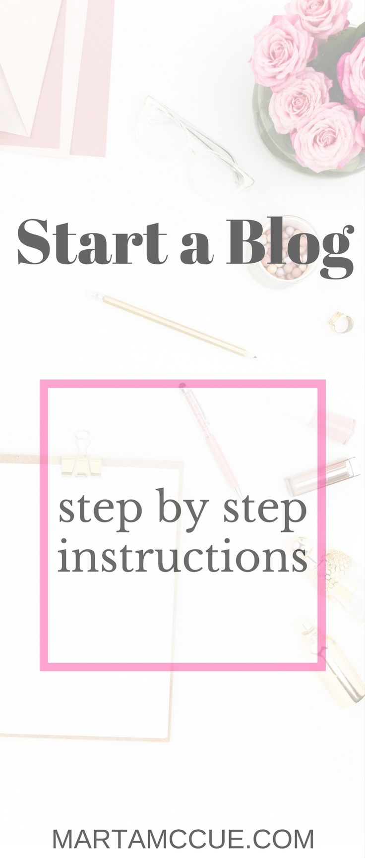Start your own blog! Start a fashion blog. Start a lifestyle blog. Step by step Tutorial.