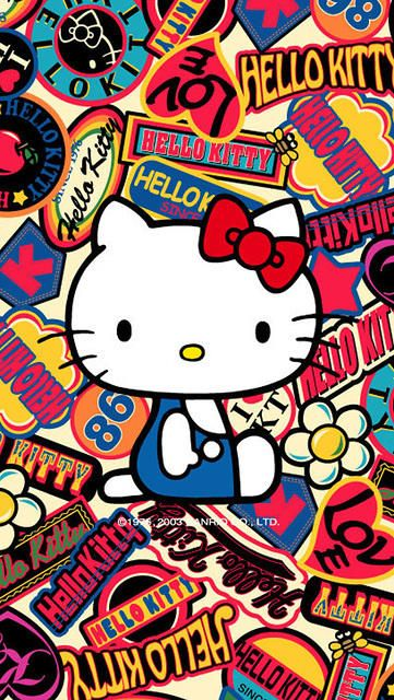 Hello Kitty Iphone Wallpaper Grafiti Hell Kitty Hello Kitty