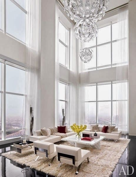 Light Filled Contemporary Living Rooms: Best 25+ High Ceiling Lighting Ideas On Pinterest