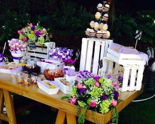 326 best images about mesas decoradas on pinterest mesas dessert tables and cake table - Mesa de dulces para bodas ...