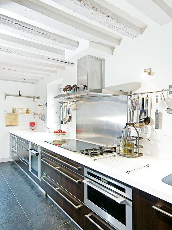 """In the words of three Michelin star Chef Pierre Gagnaire: """"I already had some of their [De Dietrich] appliances at home in Paris and their design was exceptionally elegant with a touch of sophistication. They always perform well and have never let my family down. I certainly had to have the same brand of kitchen appliances for my lovely countryside home!"""" #HomesofDeDietrich"""