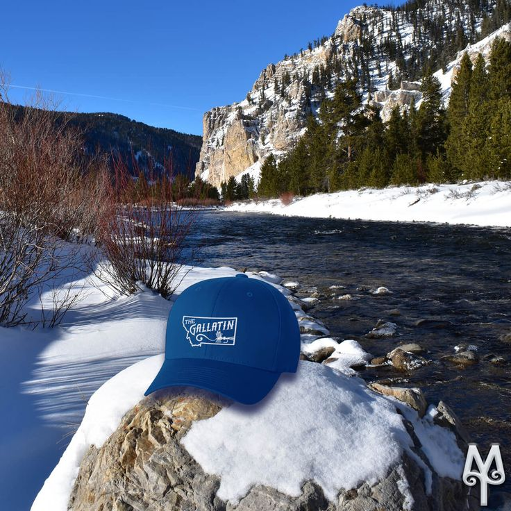 This year, make a resolution to visit Montana and the Gallatin River...'Fly Fishing Heaven.' As a reminder, purchase a Montana Treasures Gallatin River ball cap, today!