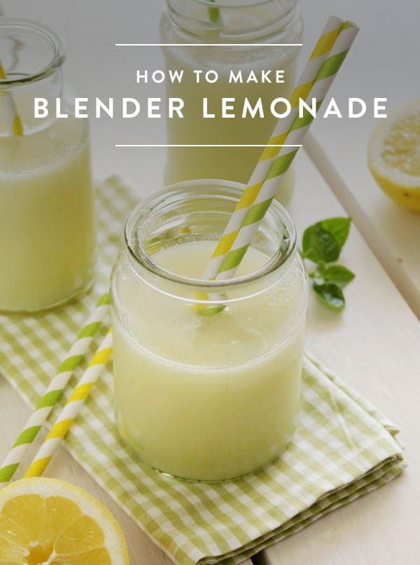 Ready to Have Your Mind Blown? Meet Blender Lemonade via @PureWow
