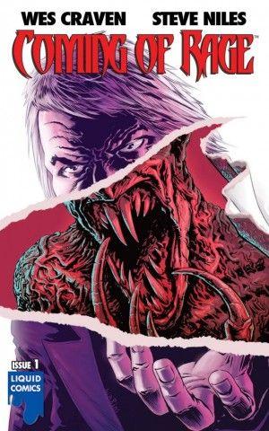Een vampier, een weerwolf en een zombie lopen een bar in… Wes Craven heeft zijn eerste strip uitgebracht in samenwerking met Steve Niles