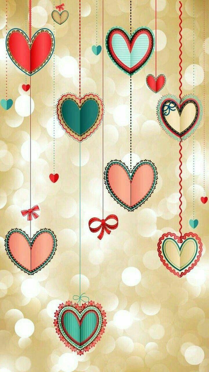 Pin By Servis On Sekil Cards Handmade Wallpaper Heart Art