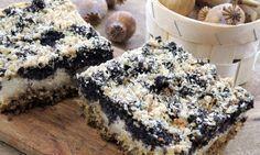 Tvaroho-makový koláč bez mouky
