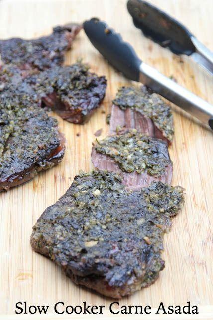 Slow Cooker Carne Asada Recipe | 5DollarDinners.com