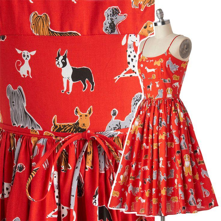 Rojo de la vendimia impresión del perro 100% algodón metros de tela caja de pañuelos de tela para coser de coser DTY material del remiendo vestido párr artesanato tecidos(China (Mainland))