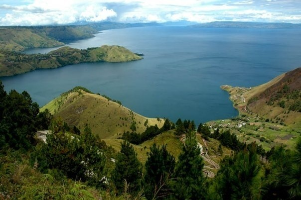 # Lake Toba, North Sumatera, Indonesia - Wonderful Lake Toba, the largest volcanic lake in the world