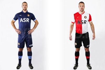 New Feyenoord kits for 2012-2013