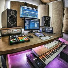 "2,952 Likes, 203 Comments - Studios (@ontrackstudio) on Instagram: ""Great studio from @setupmusicstudio! ▫️Studio foam giveaway! Put a emoji somewhere in your…"""