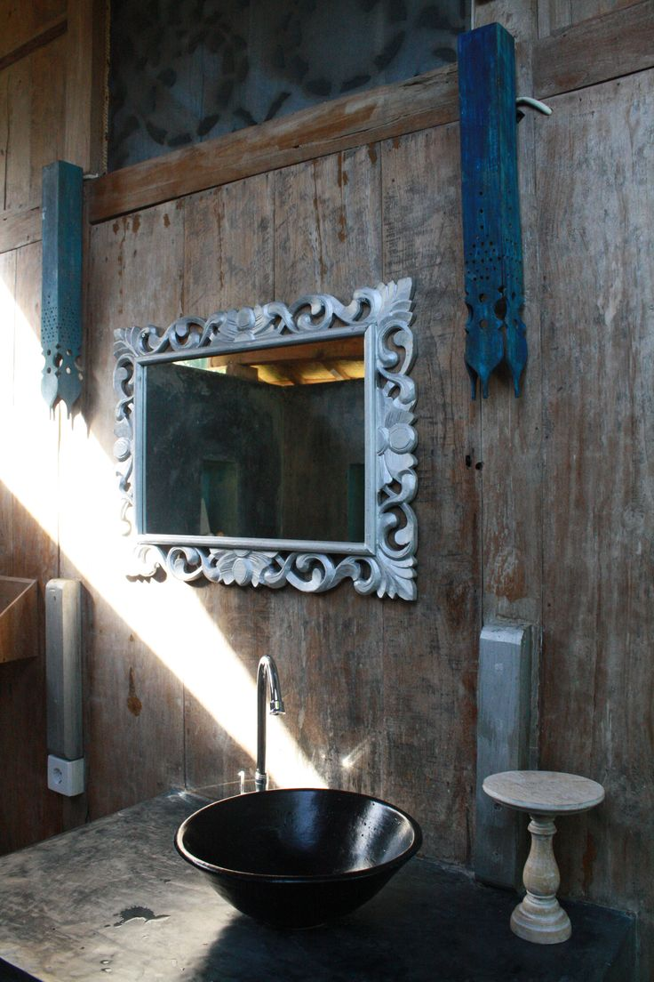Blue Bungalow Bathroom