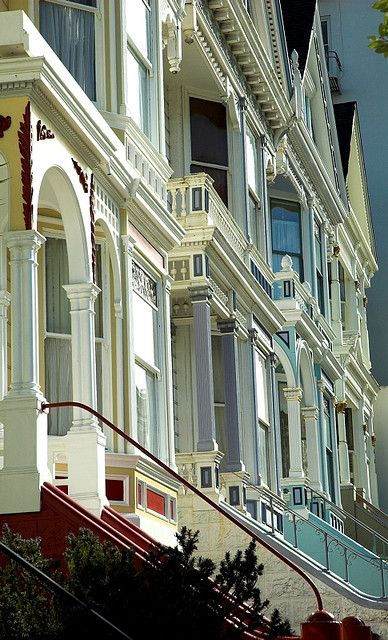 ☀Alamo Square houses, San Francisco by Can Balcioglu*