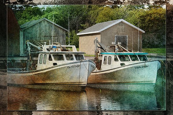 Malpeque Harbour 4. Photo art by WB Johnston, available as prints in a large variety of sizes.