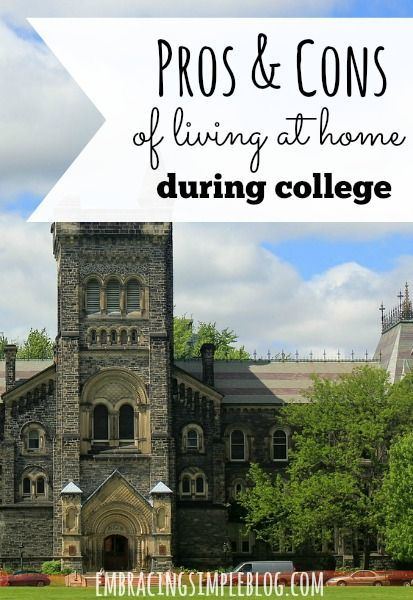 17 best ideas about college commuter on pinterest Pros and cons of living in an apartment