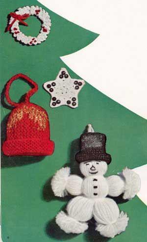Holly Wreath Ornament Crochet Patterns Crochet It Xmas