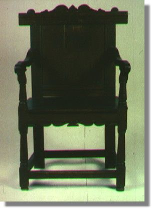 Amazing Winslow C. Example Of Pilgrim Furniture. A Joined Chair