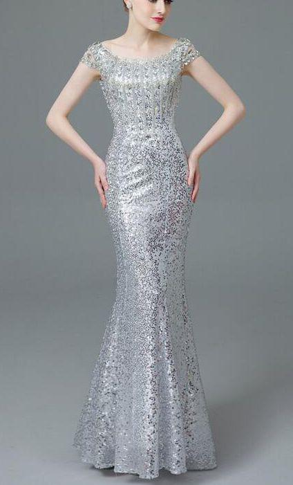 Sexy dress,silver sequin bridesmaid dresses, modest bridesmaid dresses, sequin bridesmaid dresses, long bridesmaid dresses