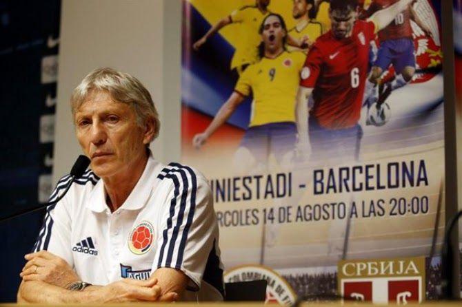 José Pékerman - Rueda de prensa Colombia 1 Serbia 0 (14/08/2013)