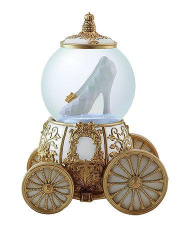 Look what I found on #zulily! Cinderella Glass Slipper Snow Globe #zulilyfinds